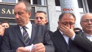 Yalova'da CHP'li başkanın gözyaşları