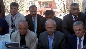 Kılıçdaroğluundan Onurun ailesine taziye ziyareti