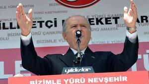 Bahçeli: Davutoğlu Eşme'ye giderken PKKyla temas kuruldu mu?