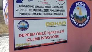 Deprem Öncü İşaretleri İzleme İstasyonu açıldı