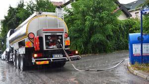 Susuz Angora'da tankerli günler