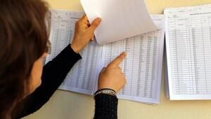 Seçimler için seçmen listeleri askıya çıktı