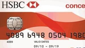 HSBC'den içi-dışı bir kredi kartı