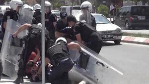 Gülsuyu davası öncesi polis müdahalesi