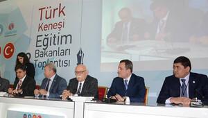 Türk dünyası eğitim bakanları yükseköğretimi konuştu