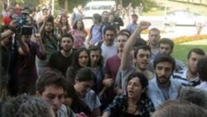 YÖK Başkanı'na, İTÜ'de protesto