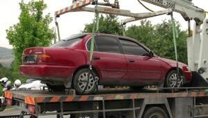 Cezaevi Müdürü İsmet Aktürk'ün suikastinde kullanılan otomobil bulundu