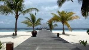 Maldivler'de kaplıca yasağı
