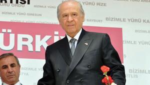 MHP Genel Başkanı Devlet Bahçeli: Eşme'ye PKK'nın kortejiyle gitti
