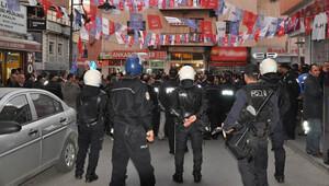 Aksaray'da beş bin kişi HDP binasına yürüdü