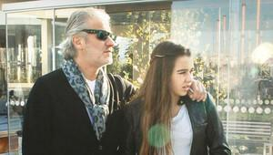 Tugay Kerimoğlu ve kızı Melis baş başa