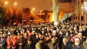 Fatih Cami Erbakan'ın cenazesine böyle hazırlandı