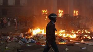 Ukrayna Başbakanından kendi polisine suçlama