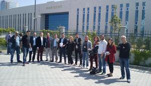 Danıştay, töreni hem gazetecilere hem de Metin Feyzioğlu'na kapattı