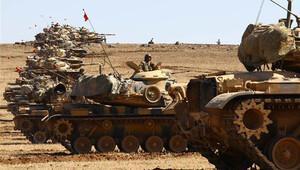 Kobani'de çatışma, tanklar tepelere konuşlandırıldı