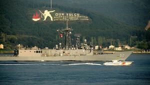 Rusya'yla kriz yaratan ABD gemisi yeniden Boğazlar'da