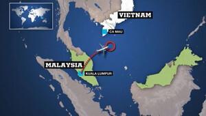 Malezya uçağının son görüldüğü yerle ilgili flaş iddia