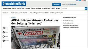 Hürriyete saldırıyı dış basın böyle gördü