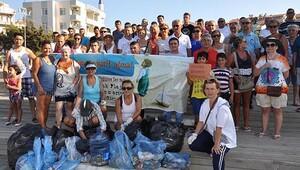 Datça'da izmaritsiz sahil kampanyası
