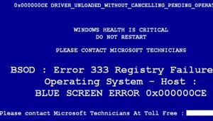 Mavi ekran hatası cebinizi yakabilir