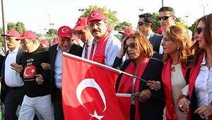 İş dünyası Ankara'da 'Teröre Hayır' dedi