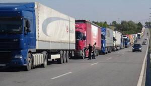 Türkiye Bulgaristan arasında TIR kuyruğu
