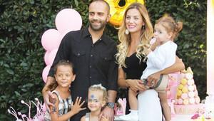 Pınar-Semih Şentürkten kızına görkemli doğum günü