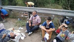 TEM Otoyolu ve Aksaray'da feci kaza