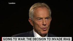 İngiltere eski Başbakanı Blair, Irak savaşında yapılan hatalardan dolayı özür diledi