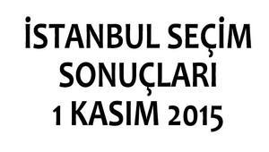 İstanbul seçim sonuçları 1 Kasım 2015 | İstanbul'da kim kazandı?
