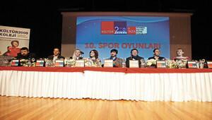 Spor Oyunları ödül töreni yapıldı