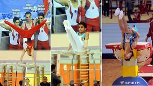 İzmir'de artistik cimnastik rüzgarı