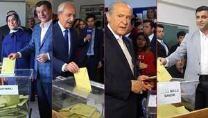 Siyasilerin sandığından hangi parti birinci çıktı