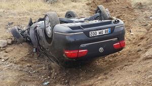 Kayseri Büyükşehir Belediye Başkanı Mustafa Çelik'in konvoyunda kaza