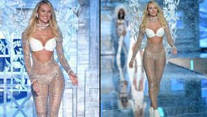 Victoria's Secret tasarımcıları Britney Spears'tan kopya mı çekti