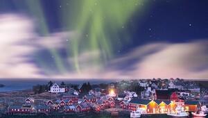 Laponyada kuzey ışıklarını gördüm