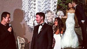 Acun Ilıcalı eski Survivor yarışmacısı Akın Saatçinin nikah şahidi oldu