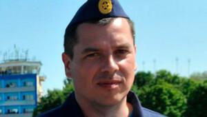 Rus pilotlardan biri Lazkiye'deki Rus üssünde
