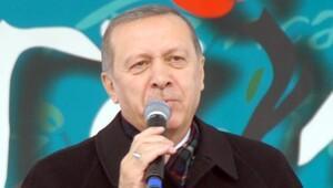 Cumhurbaşkanı Erdoğan Bayburt'ta açıklamalarda bulundu