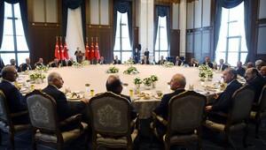 Cumhurbaşkanı Erdoğan YÖK Başkanı ve rektörlerle