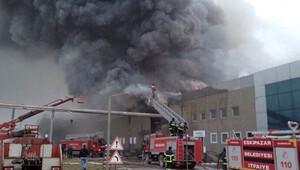 Çankırı Çerkeş'te Aytaç Gıda tesisinde yangın