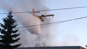 Aytaç Et'deki yangın 28 saat sonra söndürüldü