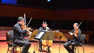 Borusan Quartet barış için çaldı