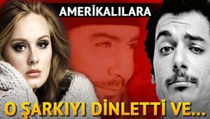 Hayrettin Ahmet Kaya şarkısını ABD'lilere dinletti