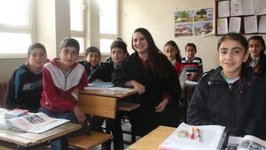 Sınır köyünün eğitim melekleri