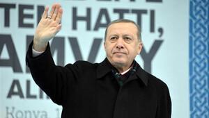 Cumhurbaşkanı Erdoğan 'Şeb-i Arus' için Konya'da
