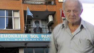 DSP Rize İl Başkanı parti binasında ölü bulundu