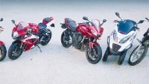 Motosiklet pazarı 2015'te yüzde 8 küçüldü