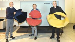 Öziş'in tasarımları mobilya devi Walter Knoll'un koleksiyonuna girdi