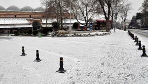 Trakya'da kar yağışı başladı